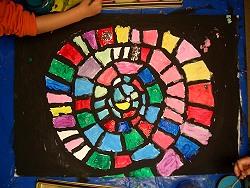 Farben Im Kindergarten Ideen farbenschnecke - kindergarten ideen