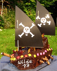 Piratenkuchen